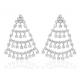 Brincos Coliseu em Prata. Réplica Amália em Prata 925